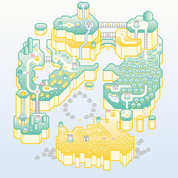 Super Mario World Print