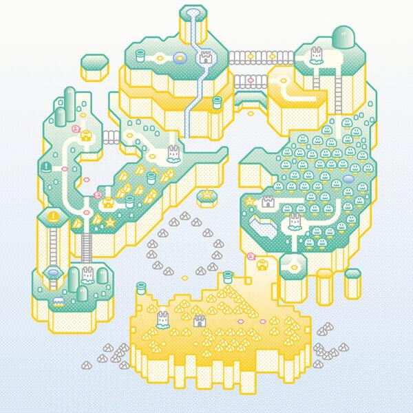 Super Mario World Print